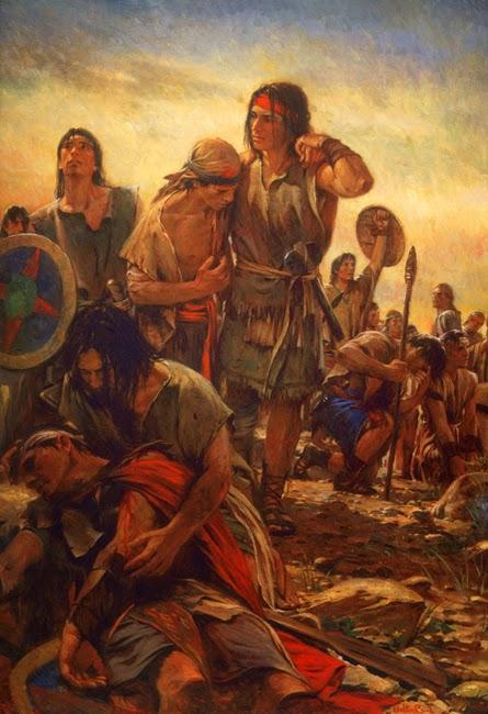 """Stripling Warriors"" by Walter Rane"